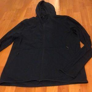 Surge zipped hoodie DARK NAVY